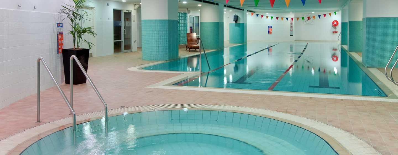โรงแรม Hilton Sydney ออสเตรเลีย - สระว่ายน้ำในร่ม