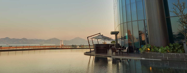 Hilton Shenzhen Shekou Nanhai, China – Lobby Lounge