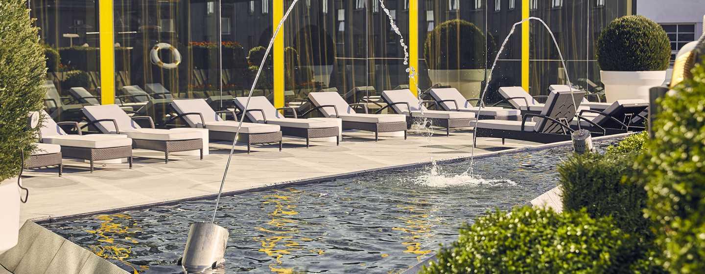 Hilton Tallinn Park -hotellin terassi