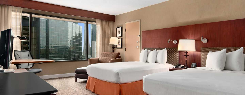 Hotel Hilton Toronto, Canadá – Quarto Deluxe