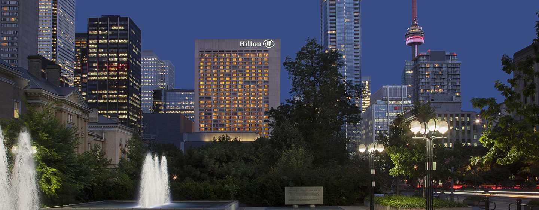 Hôtel Hilton Toronto, Canada - Extérieur depuis le parc