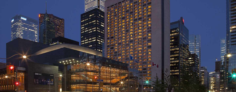 Hotel Hilton Toronto, Canadá – Exterior do hotel