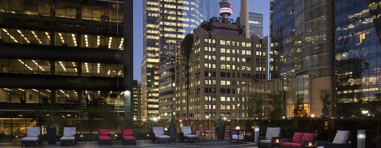 Hôtel Hilton Toronto, Canada - Piscine extérieure