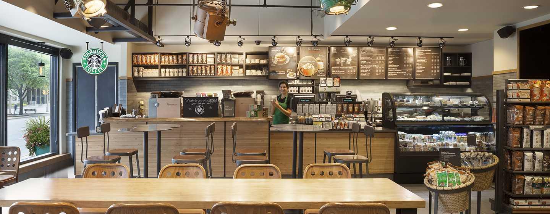 Hotel Hilton Toronto, Canadá – Starbucks