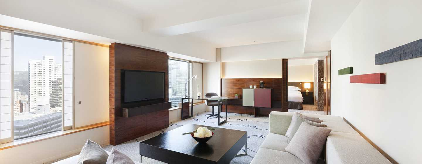 Hilton Tokyo Hotel, Japan – Executive Suite im Tower mit King-Size-Bett