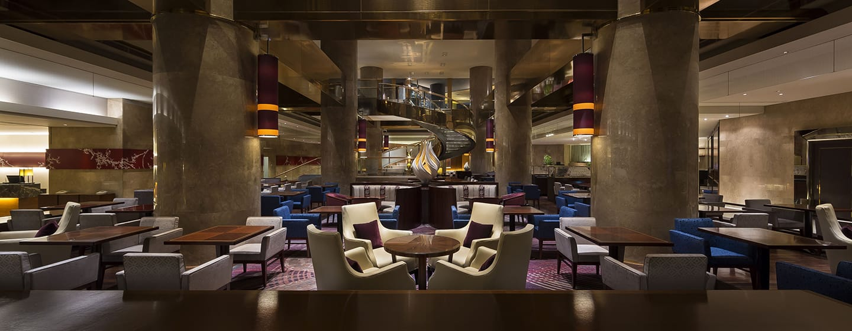 Hilton Tokyo Hotel, Japan – Marble Lounge