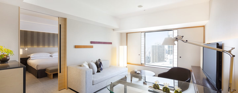 Hilton Tokyo Hotel, Japan – Executive City Suite mit Kingsize-Bett