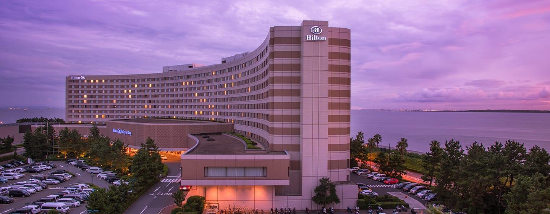 โรงแรม Hilton Tokyo Bay ญี่ปุ่น - ภายนอกโรงแรม
