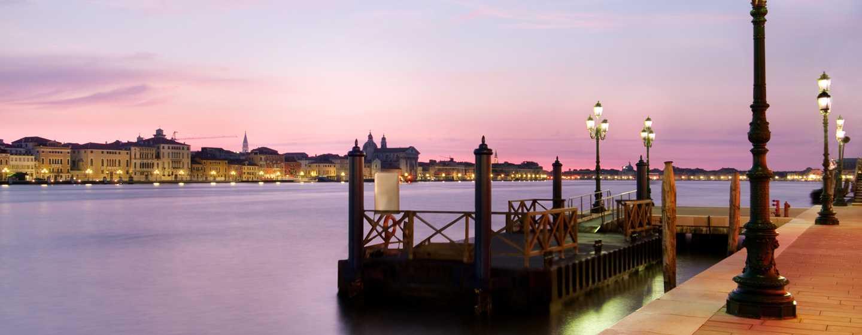 Hilton Molino Stucky Venice hotel, Italië - Shuttleboot