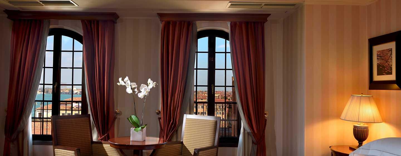 Hôtel Hilton Molino Stucky Venice, Italie - Chambre Deluxe avec vue