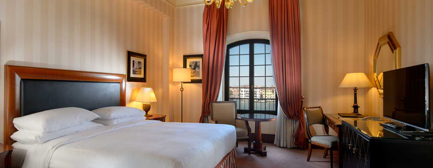 Hotel Hilton Molino Stucky Venice, Itália – Quartos King Executive com vista