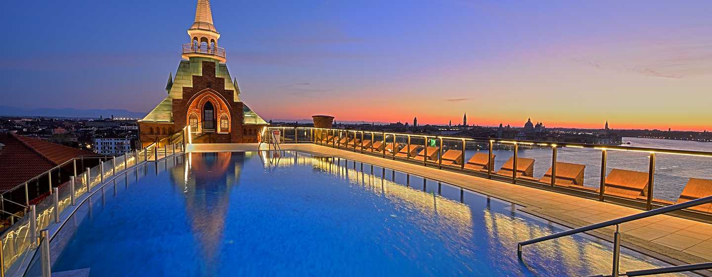 Hilton Molino Stucky Venice hotel, Italië - Dakzwembad