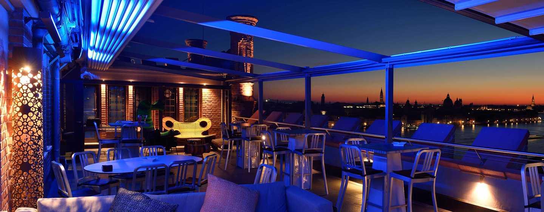 Hilton Molino Stucky Venice hotel, Italië - Skyline Rooftop Bar