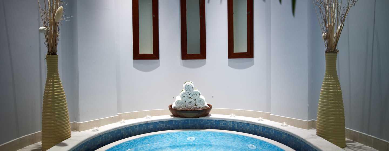 Hôtel Hilton Molino Stucky Venice, Italie - Bain à remous du spa eforea