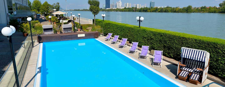 Hilton vienna danube waterfront hotels in wien for Trendige hotels