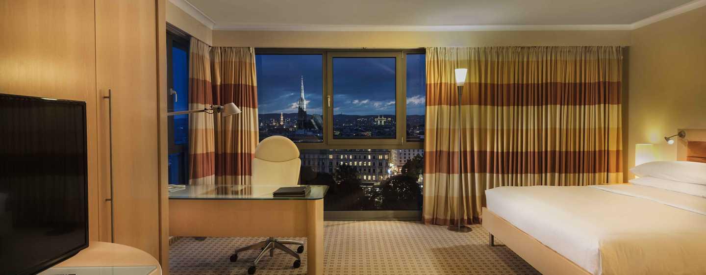 Hôtel Hilton Vienna, Vienne, Autriche - Suite junior - Vue sur la cathédrale