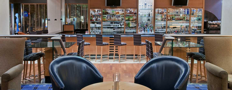 Hôtel Hilton Vienna, Vienne, Autriche - Salon et bar du hall