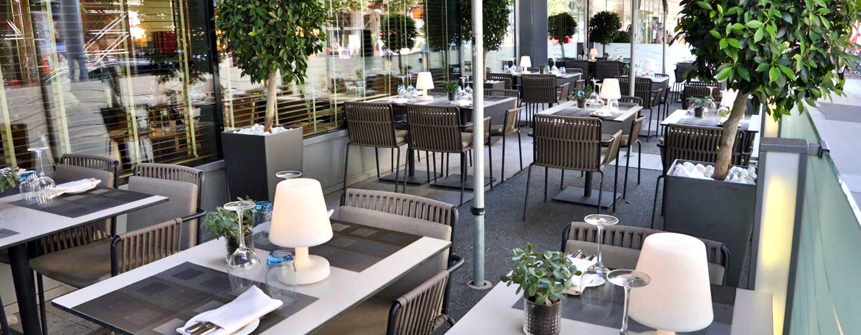 Hôtel Hilton Vienna, Vienne, Autriche - Terrasse du restaurant S'PARKS
