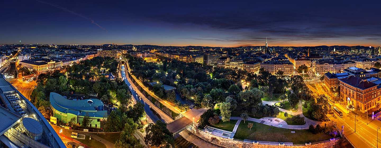 Hôtel Hilton Vienna, Vienne, Autriche - Vienne de nuit
