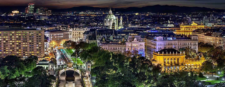 Hôtel Hilton Vienna, Vienne, Autriche - Suite junior - Vienne de nuit