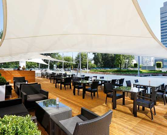 Hilton Warsaw Hotel and Convention Centre, Polska - Piazza Bar & Grill