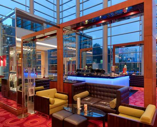 Hilton Warsaw Hotel and Convention Centre, Polska - Pistaccio Lobby Bar & Lounge