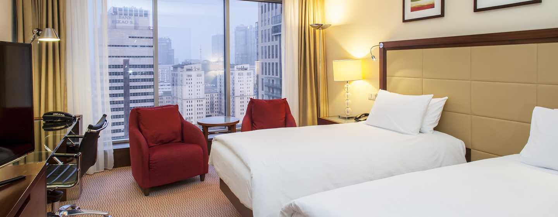 Hilton Warsaw Hotel and Convention Centre – Pokój Twin Hilton Executive
