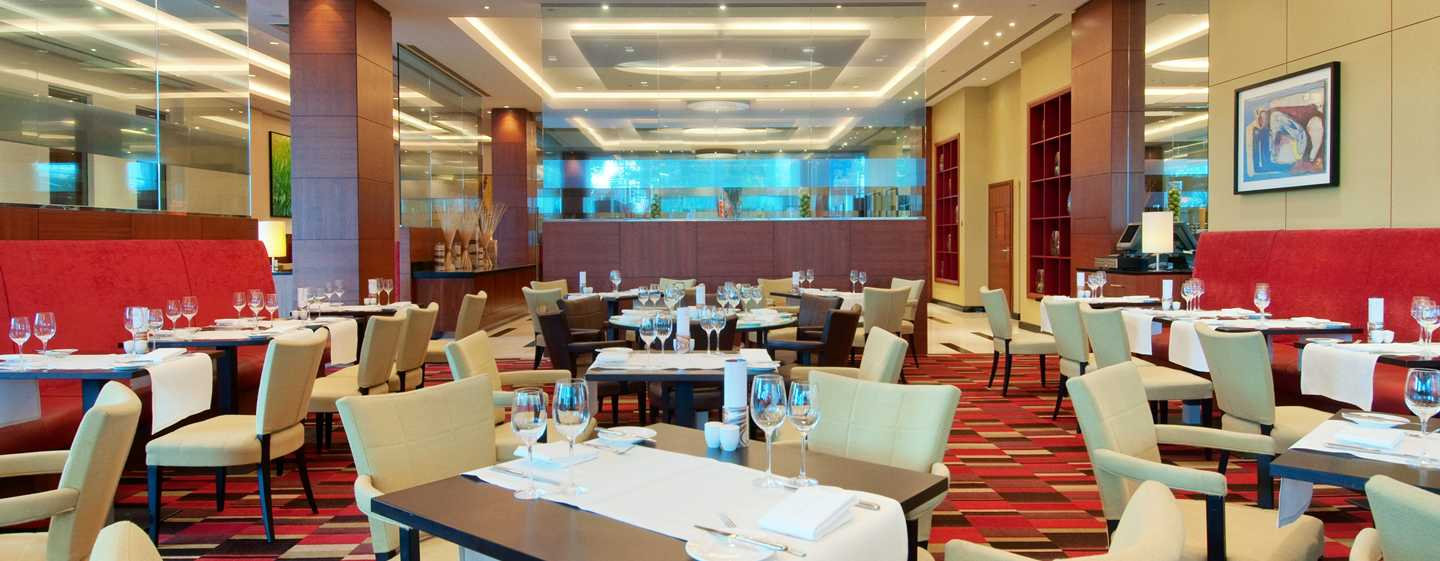 Hilton Warsaw Hotel and Convention Centre, Polonia - Restaurantul Meza
