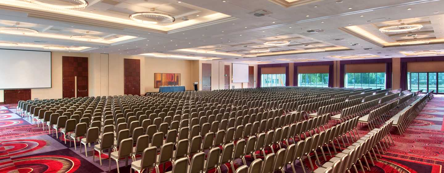 Hilton Warsaw Hotel and Convention Centre – Centrum konferencyjne
