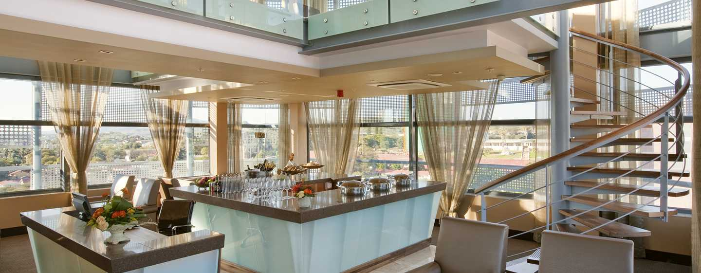 Hilton Windhoek Hotel, Namibia – Executive Lounge