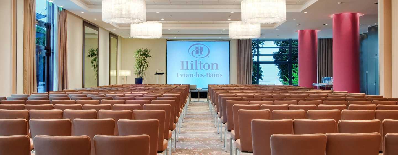Hôtel Hilton Evian-les-Bains, France - Salle plénière