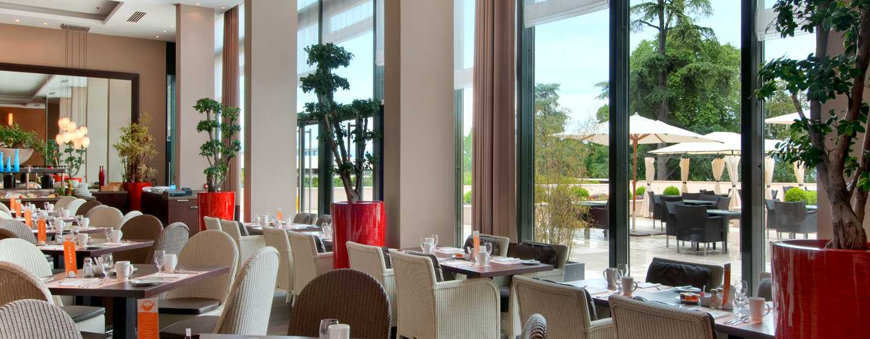 Hôtel Hilton Evian-les-Bains, France - Restaurant Cannelle