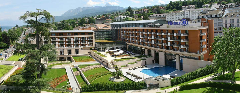 Hôtel Hilton Evian-les-Bains, France - Extérieur de l'hôtel