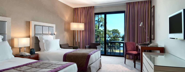 Hilton Evian-les-Bains Hotel– Executive Zweibettzimmer