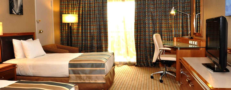 Hôtel Hilton Yaounde, Cameroun - Chambre Hilton avec lits jumeaux