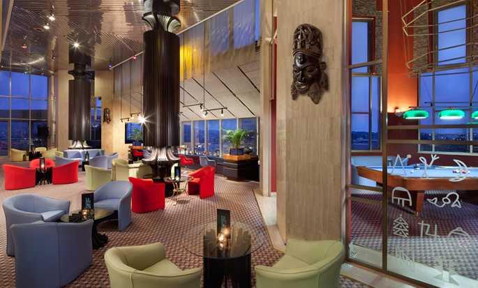 Hôtel Hilton Yaounde, Cameroun - Bar Le Panoramique