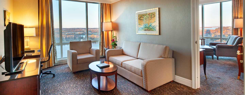 Hôtel Hilton Lac-Leamy, Gatineau, Canada - Suite