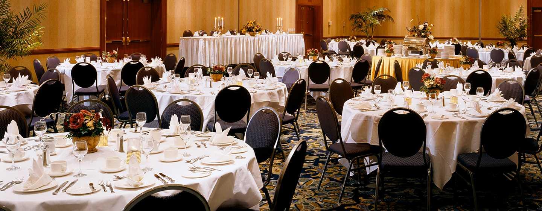 Hôtel Hilton Vancouver Airport, Colombie-Britannique, Canada - Salle de réception