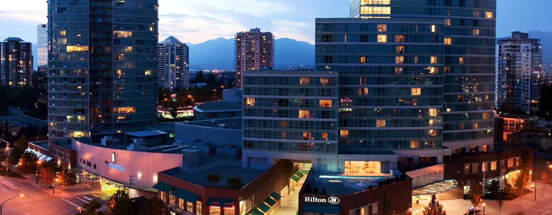 Hôtel Hilton Vancouver Metrotown, Colombie-Britannique, Canada - Extérieur de l'hôtel