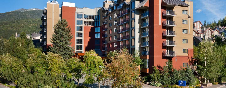 Hôtel Hilton Whistler Resort & Spa, Colombie-Britannique, Canada - Extérieur de l'hôtel