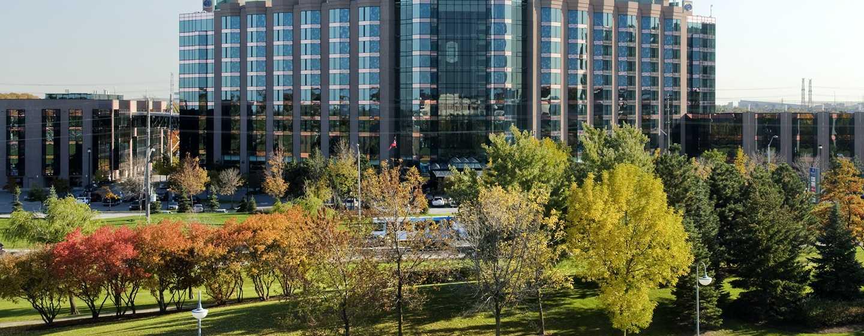 Hôtel Hilton Toronto/Markham Suites Conference Centre & Spa, Ontario, Canada - Extérieur de l'hôtel