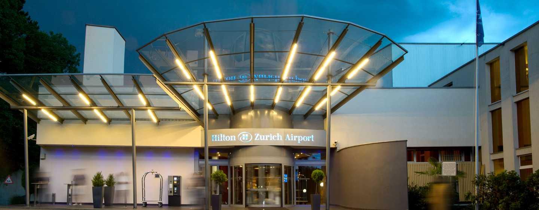 Hôtel Hilton Zurich Airport - Entrée principale