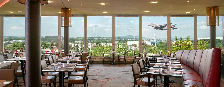 Hilton Zurich Airport Hotel, Schweiz– Restaurant Horizon10