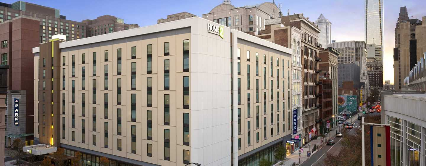 Hôtel Home2 Suites by Hilton Philadelphia - Convention Center, PA - Extérieur