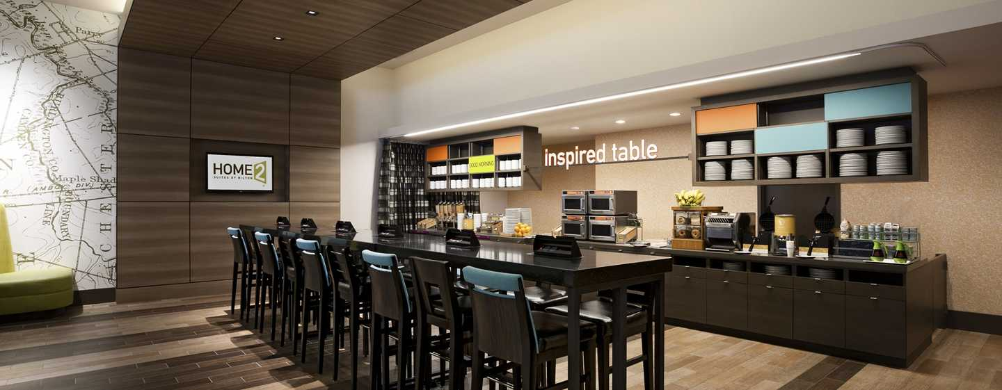 Home2 Suites by Hilton Philadelphia – Convention Center, Pennsylvania, USA – Inspired Table