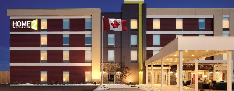 Hôtel Home2 Suites by Hilton Fort St. John, Colombie-Britannique, Canada - Extérieur de l'hôtel