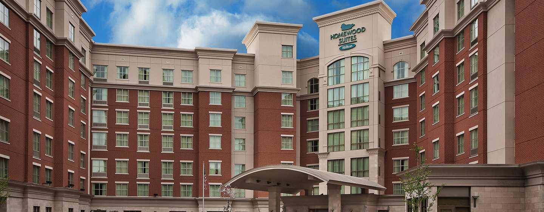 Hôtel Homewood Suites by Hilton® Nashville Vanderbilt, Tennessee, États-Unis - Extérieur de l'hôtel