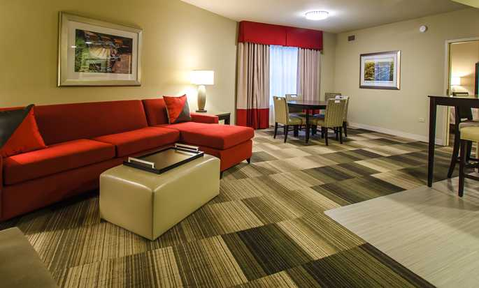 Homewood Suites by Hilton Nashville Vanderbilt, TN, USA – To soverom, oppholdsrom