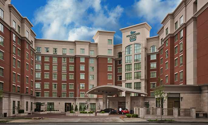 Homewood Suites by Hilton® Nashville Vanderbilt, TN, USA – Hotellet utvendig