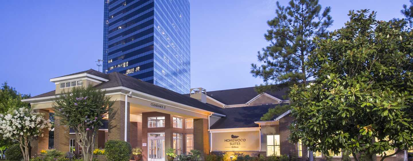 Homewood Suites de Hilton em Westchase, Houston, EUA - Exterior do hotel